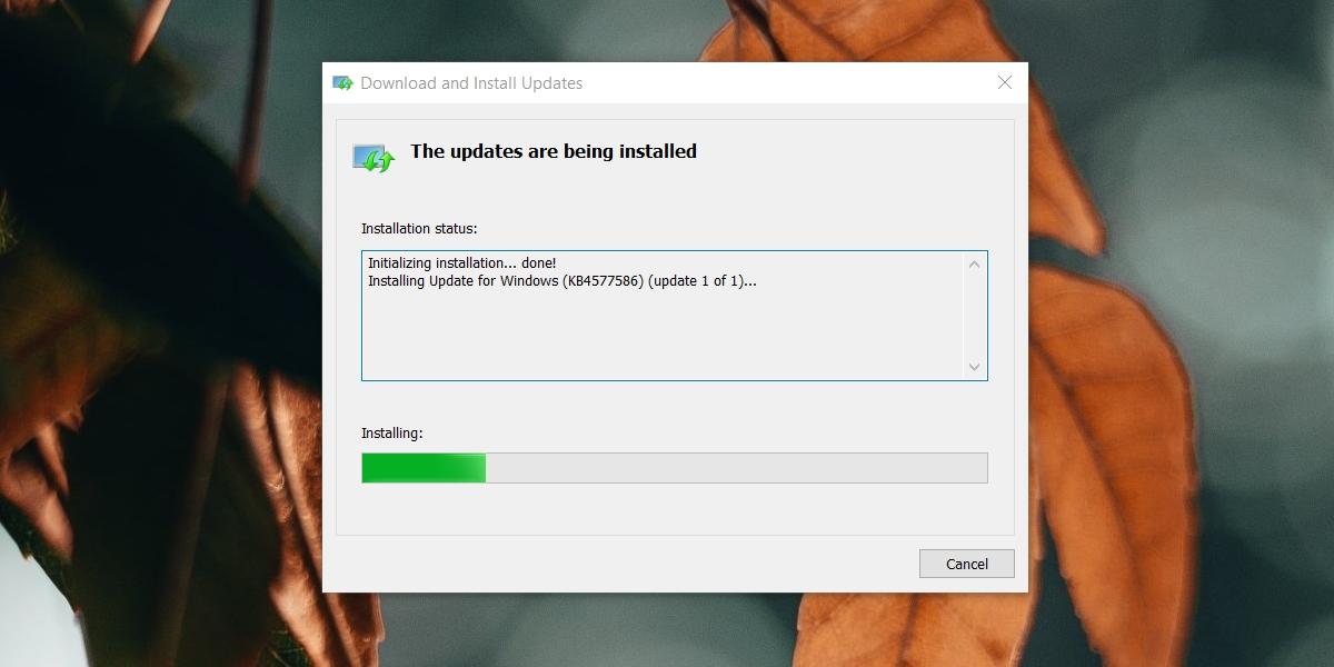 windows remove flash update