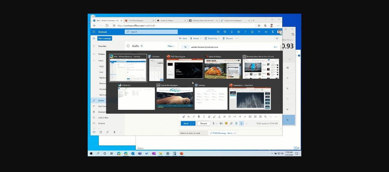 Edge browser tabs in Alt + Tab
