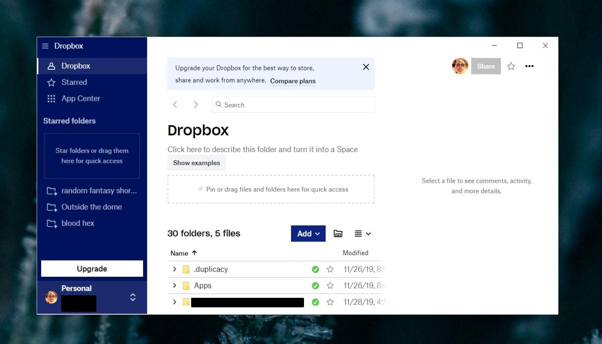Dropbox Not Responding