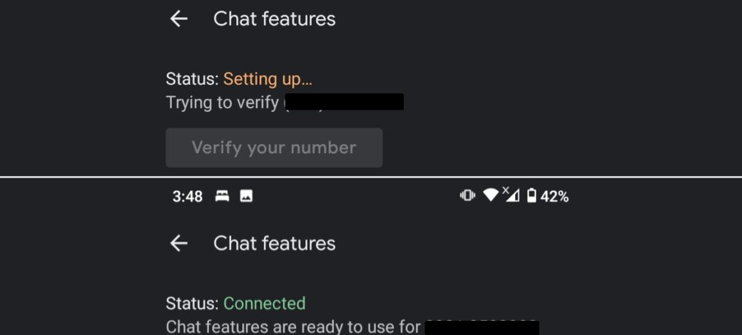 How to fix Google Chat Features status stuck at Setting Up