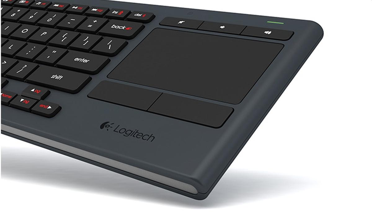 Wireless keyboard touchpad not working