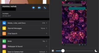 How to set custom wallpapers for chat in Whatsapp