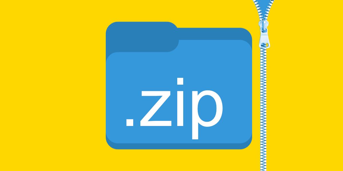 ZIP Files Windows 10