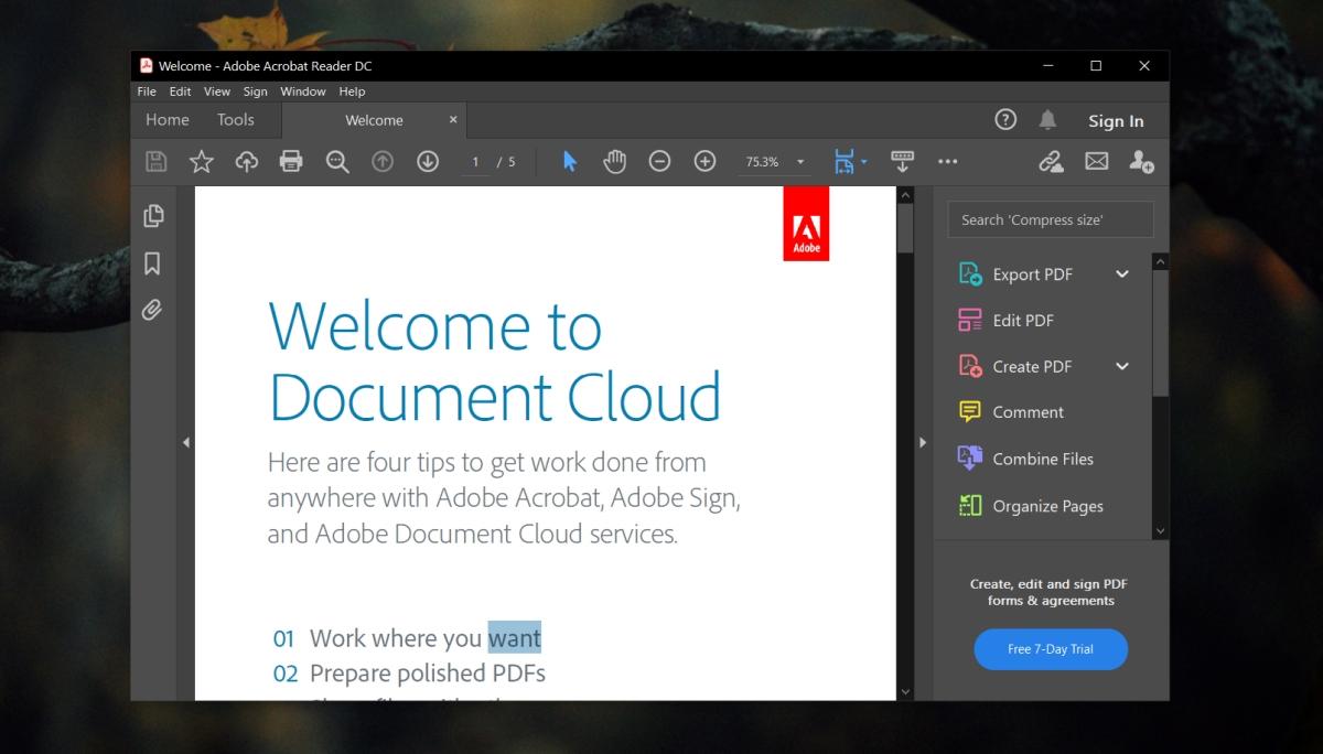 Adobe Reader not printing PDF documents