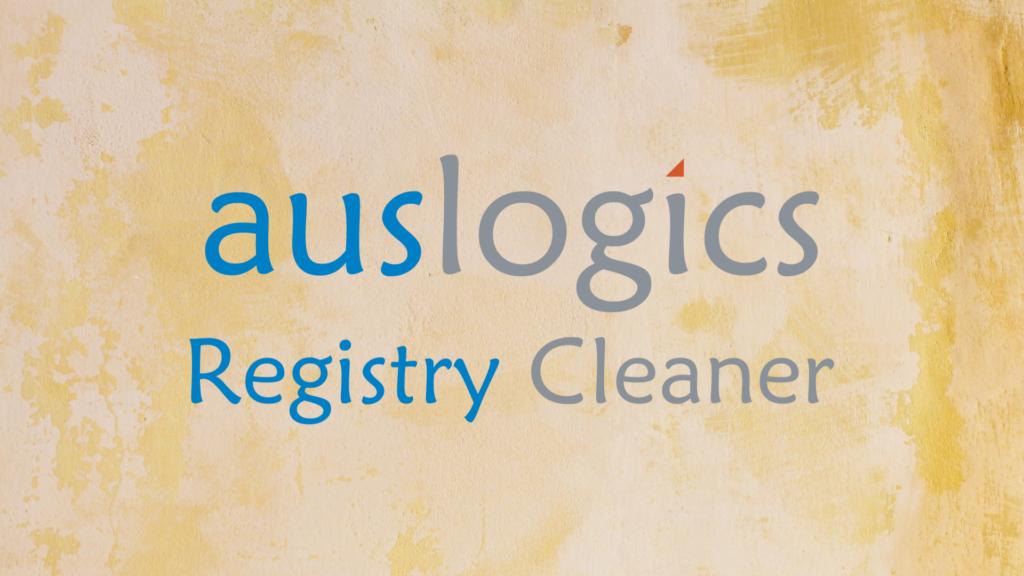Auslogics Registry Cleaner software