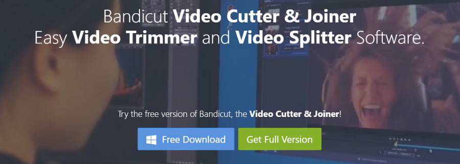 The Bandicut download page