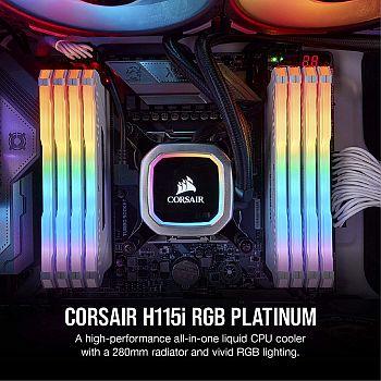 Corsair H115i RGB Platinum AIO Liquid CPU Cooler