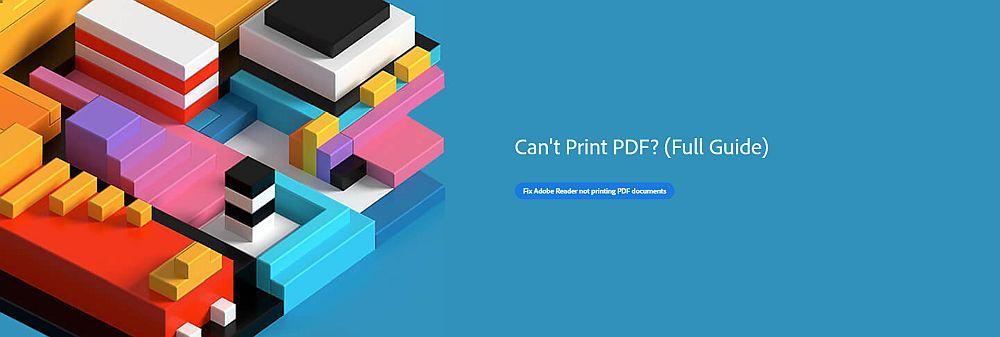 Can't Print PDF