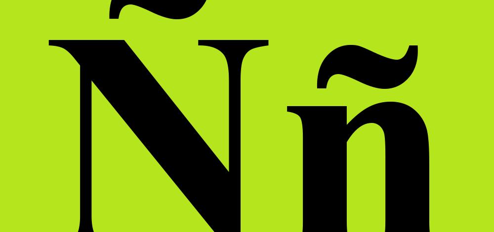 N with tilde