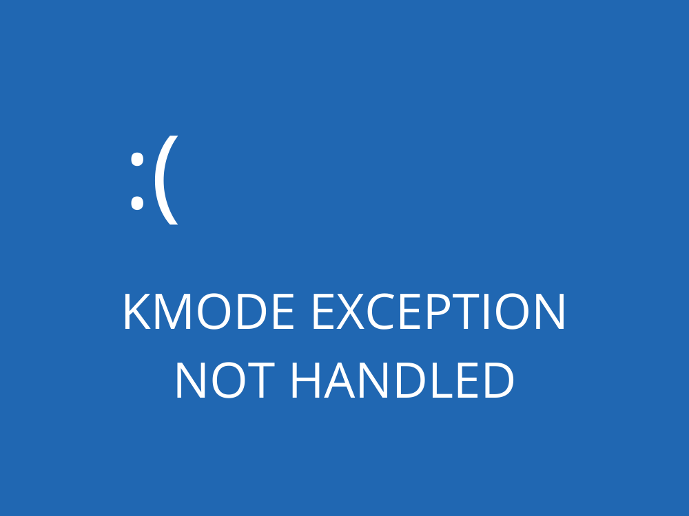 How to Fix KMODE EXCEPTION NOT HANDLED
