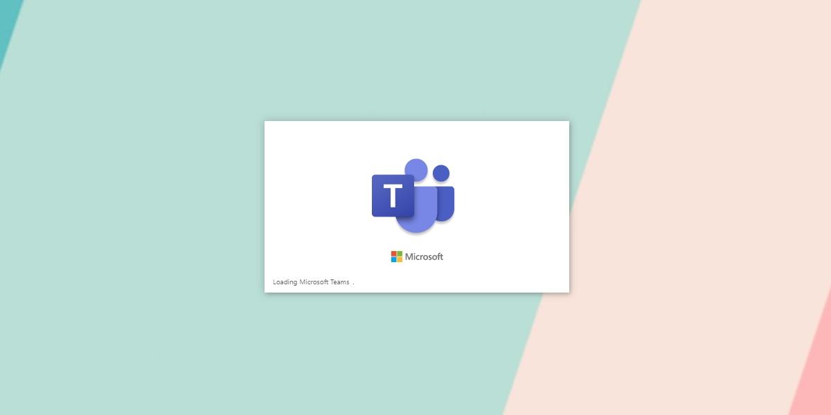 Microsoft Teams stuck on loading