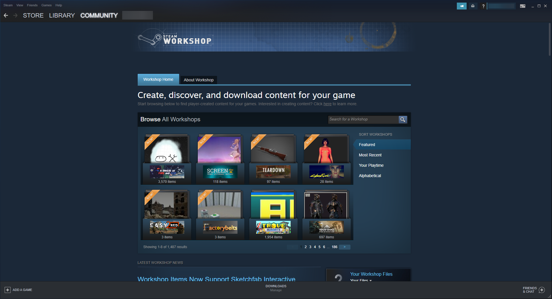 How to Access Steam Workshop