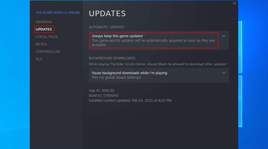how to always keep Steam games updated