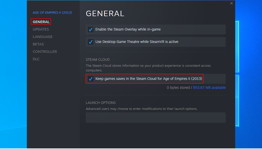 how to keep game saves in Steam Cloud