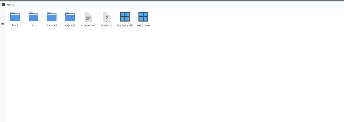 windows 10 bootable USB on Linux