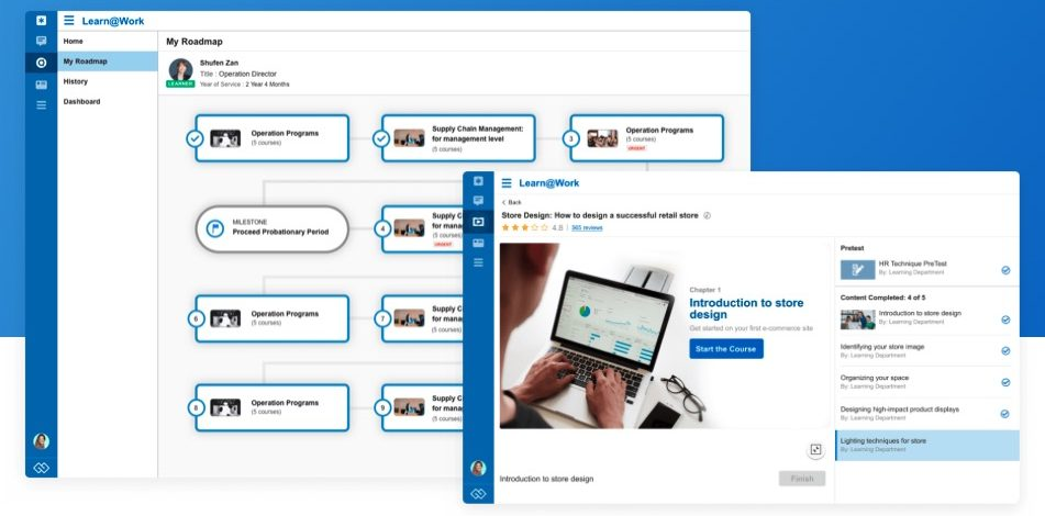 @Work by eUnite (Review): Secure online learning and organization collaboration platform