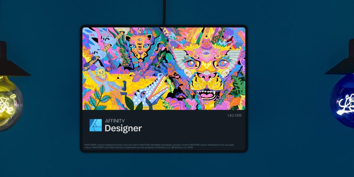 Affinity Designer is not responding