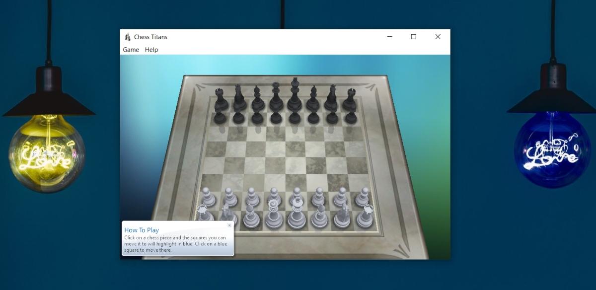 Chess Titans on Windows 10