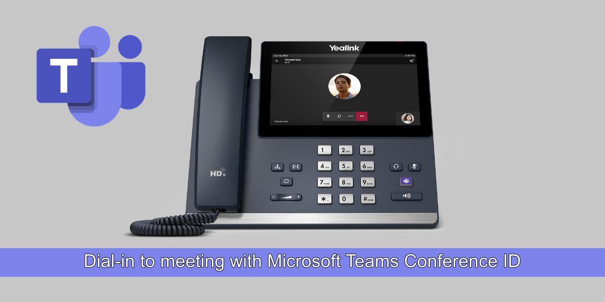 Microsoft Teams Conference ID