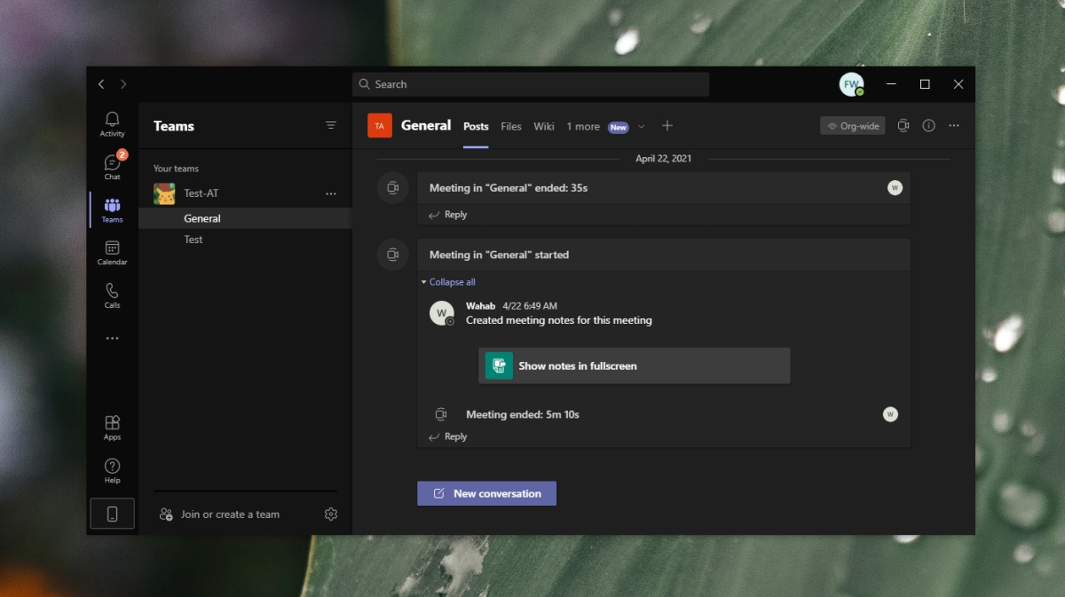 Microsoft Teams keeps popping up on screen
