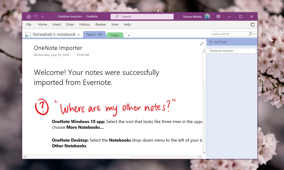 OneNote Sign In problems