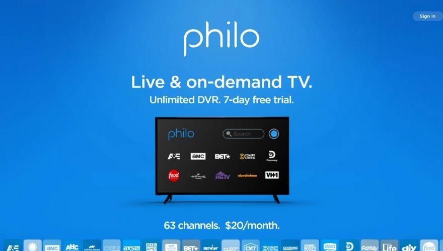Philo offer