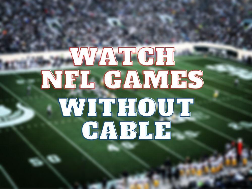 Stream NFL games free