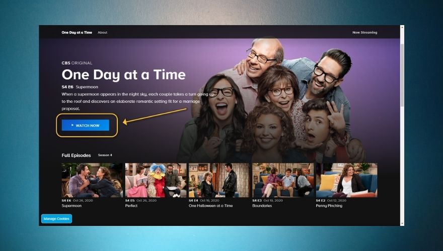 How to watch One Day at a Time on CBS