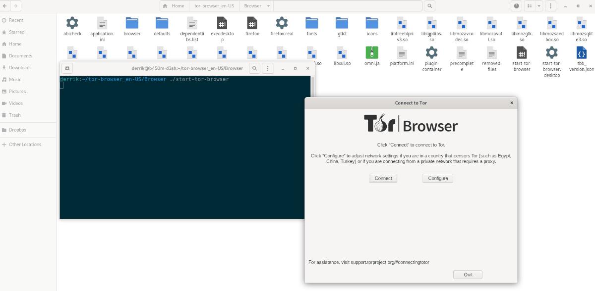 Tor Browser Bundle on Ubuntu
