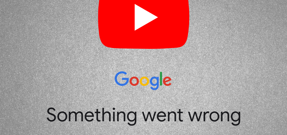 fix Youtube something went wrong error