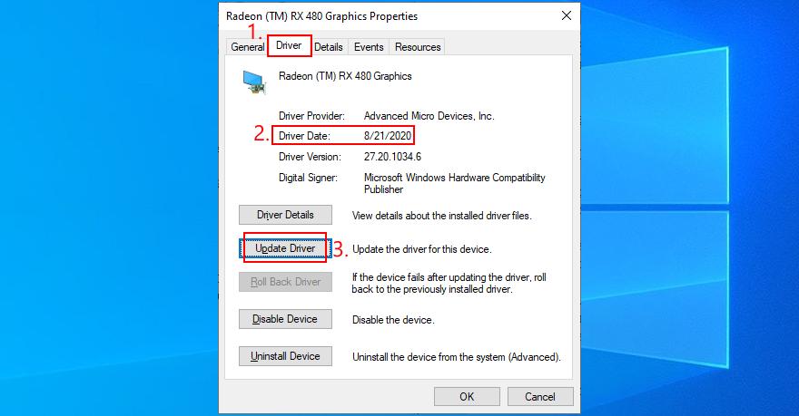 Windows 10 update display driver