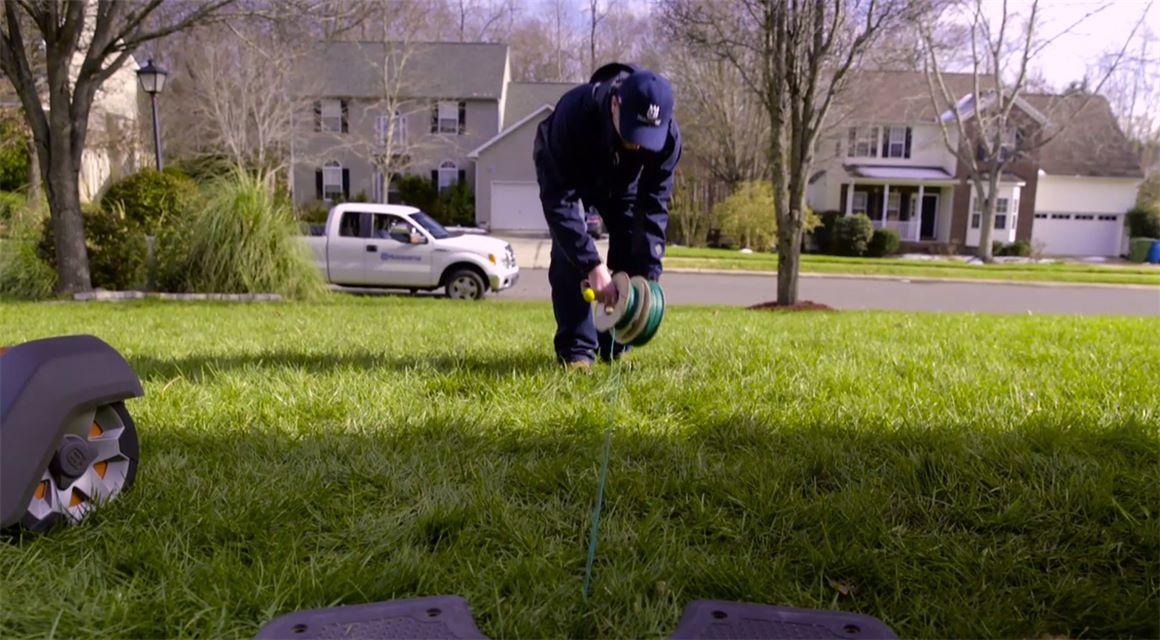 automower installing