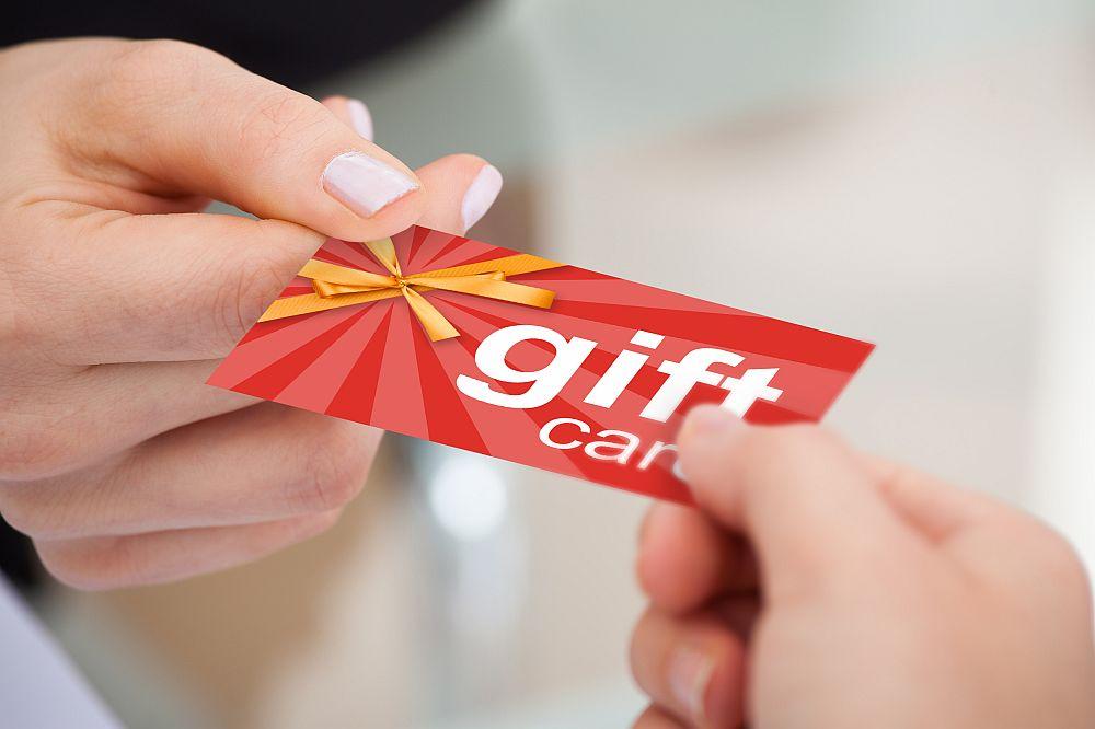 eBay gift card (voucher) scam