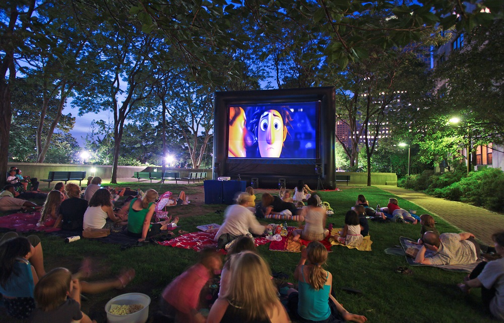 How Often Do You Watch Movies Outdoors