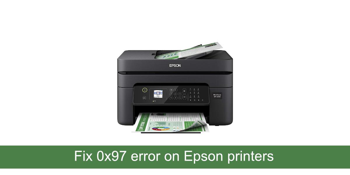 0x97 error Epson printers