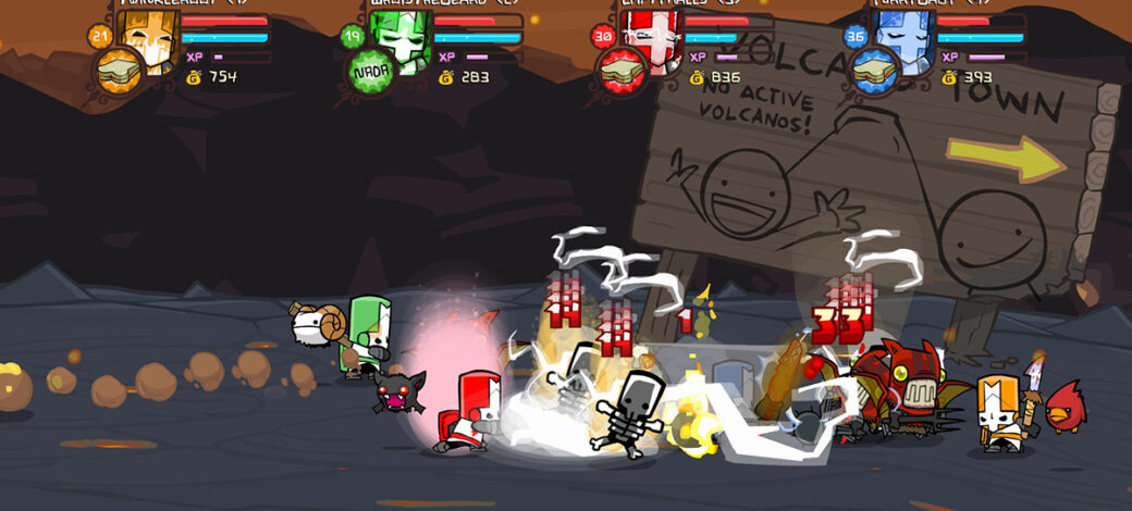 How to play Castle Crashers on Linux
