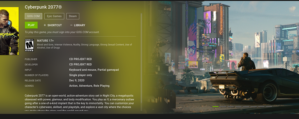How to use GeForce Now game streaming on Linux