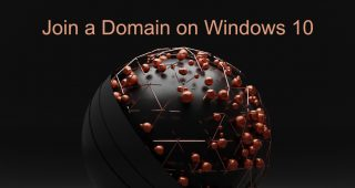 join a Domain on Windows 10