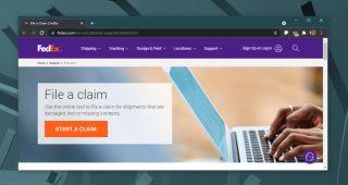 FedEx claim status