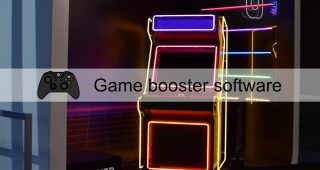 Game booster software