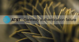 gateway authentication failure