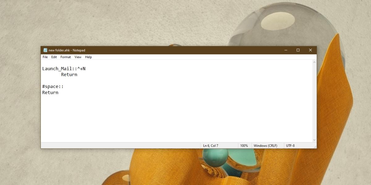 new folder shortcut script
